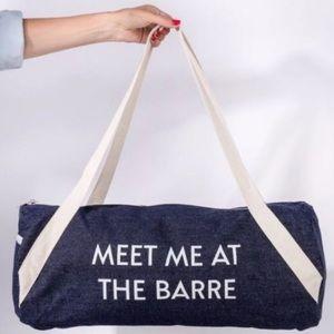 Meet at the barre bag